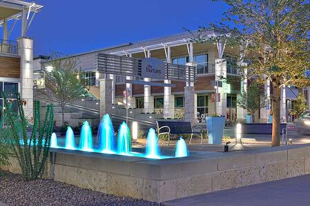 Fountains at Farah